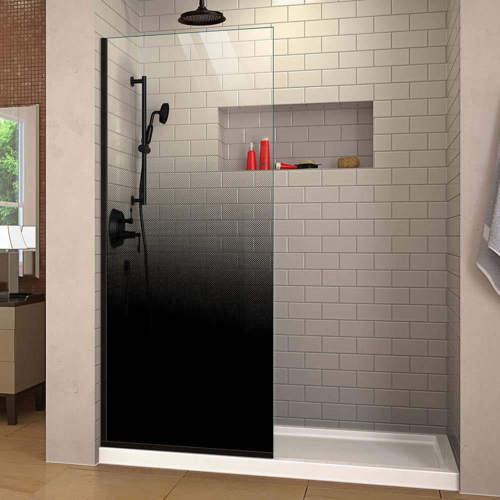 ombre shower door