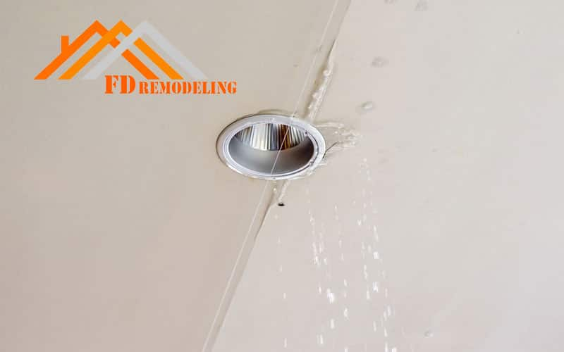Ceiling Water Damage: How to Minimize Water Damage & Leaking Ceiling