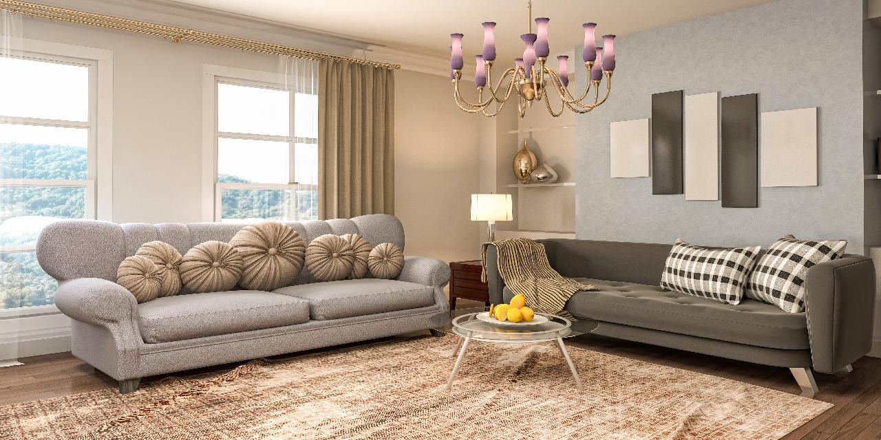 statement-lighting-living-room