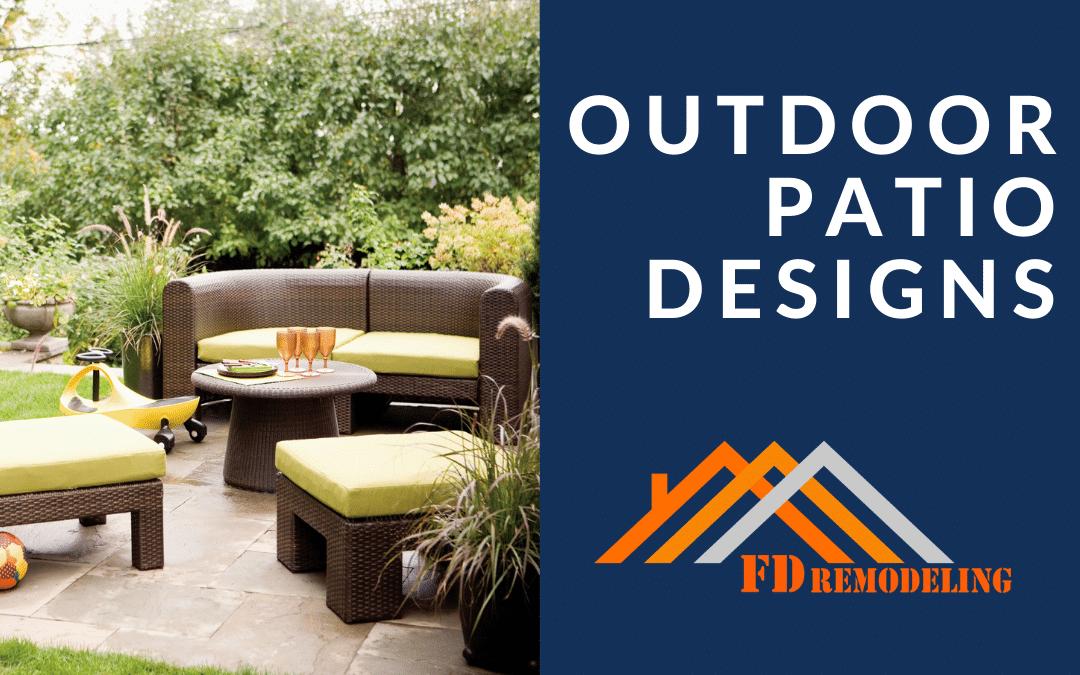 Outdoor Patio Designs for Your Backyard | FD Remodeling Atlanta
